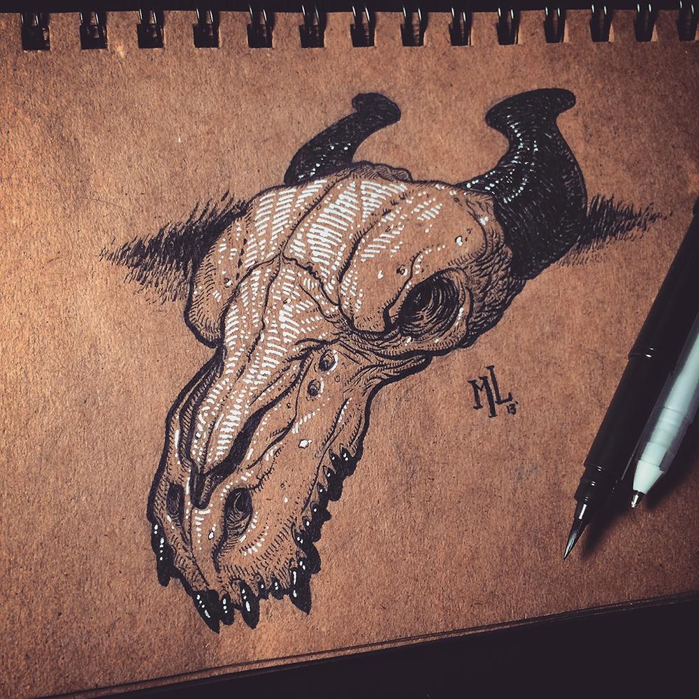 Stretched Skin Sketchbook 02