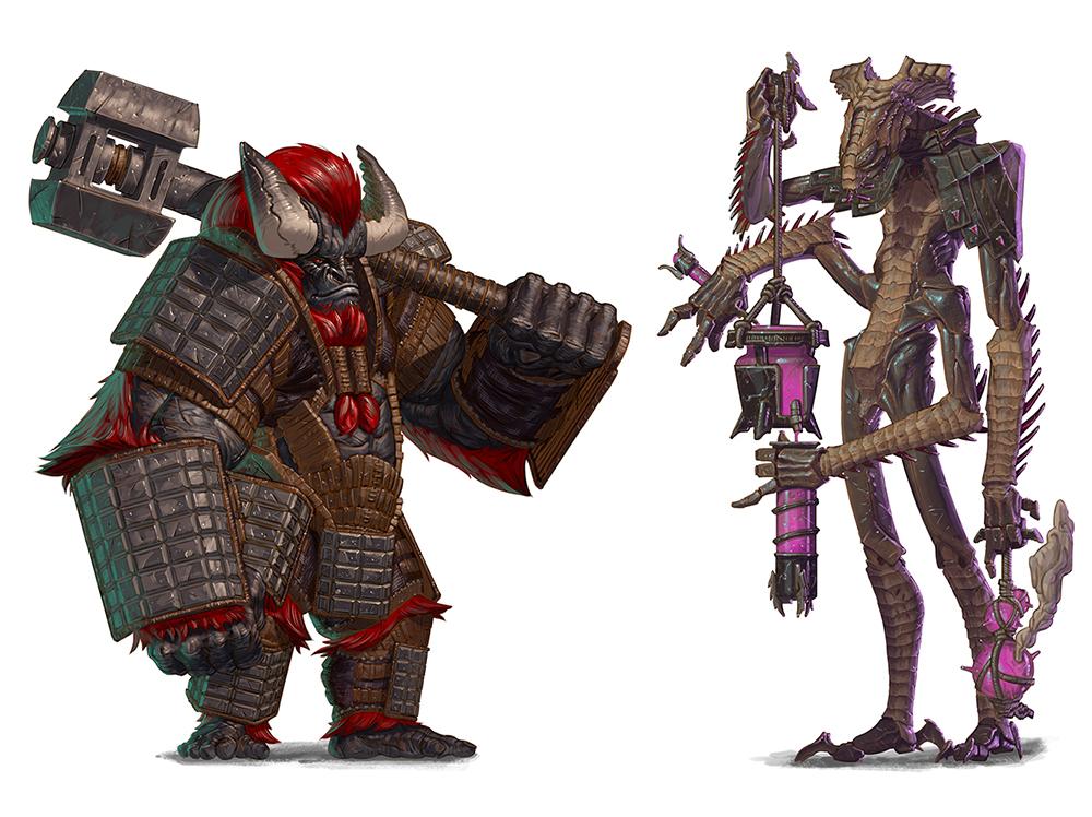 The Krang and Jagladine! And, their  Kickstarter !