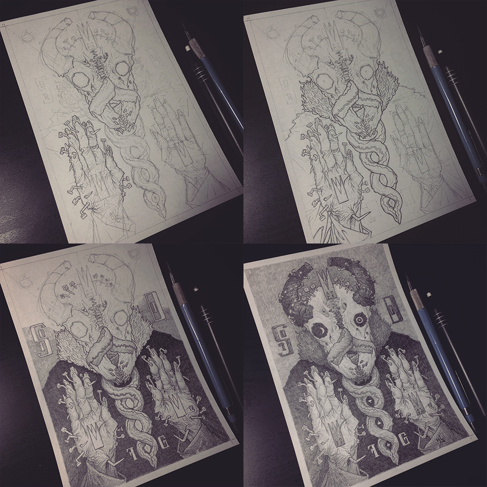process - drawing