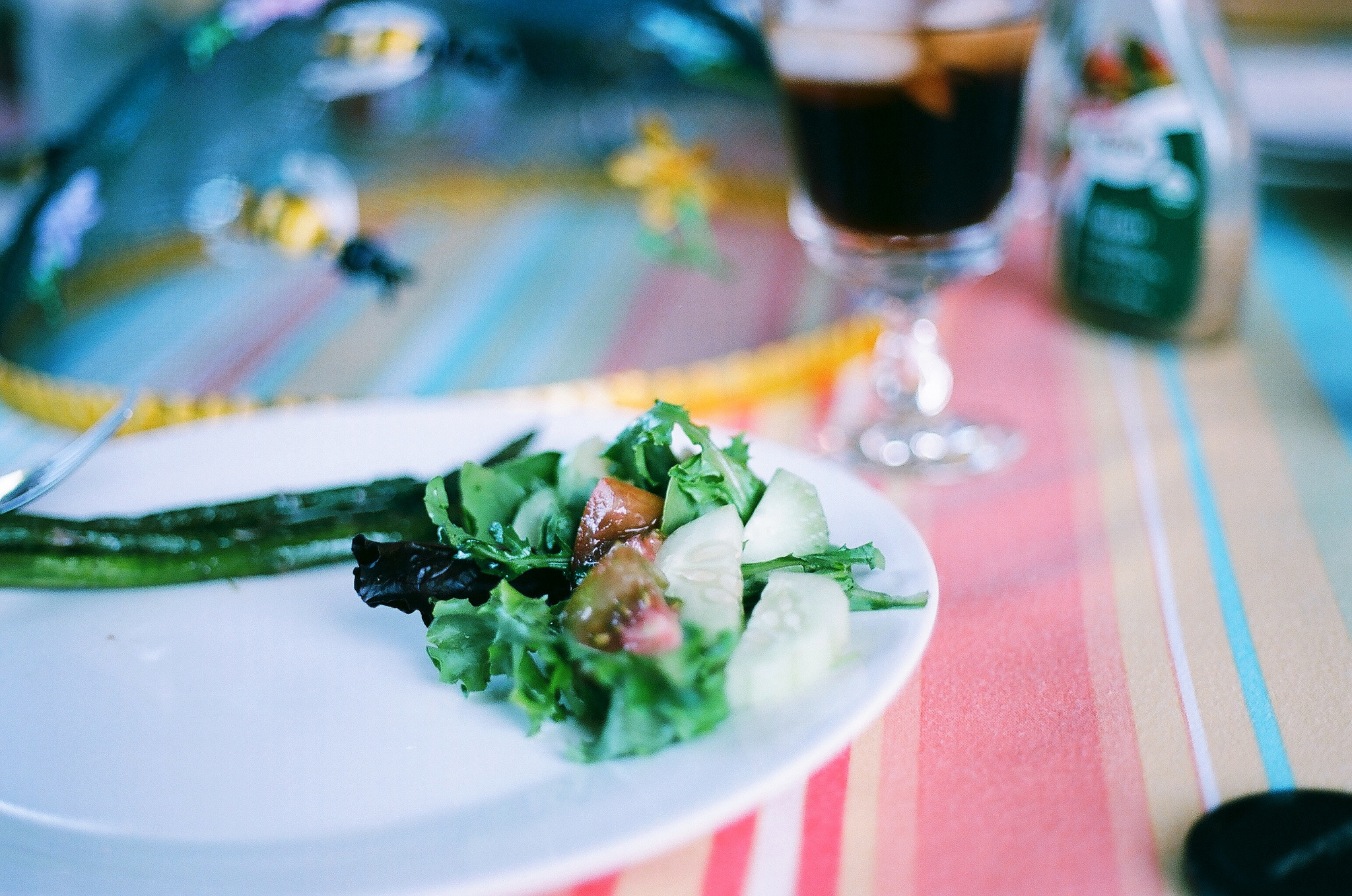 Summer Nights Kodak Ektar 100 Film - Dinner by Ellingsen Photography