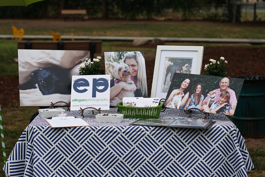 Ellingsen Photography Fullerton Dog Park Event Vendor Booth