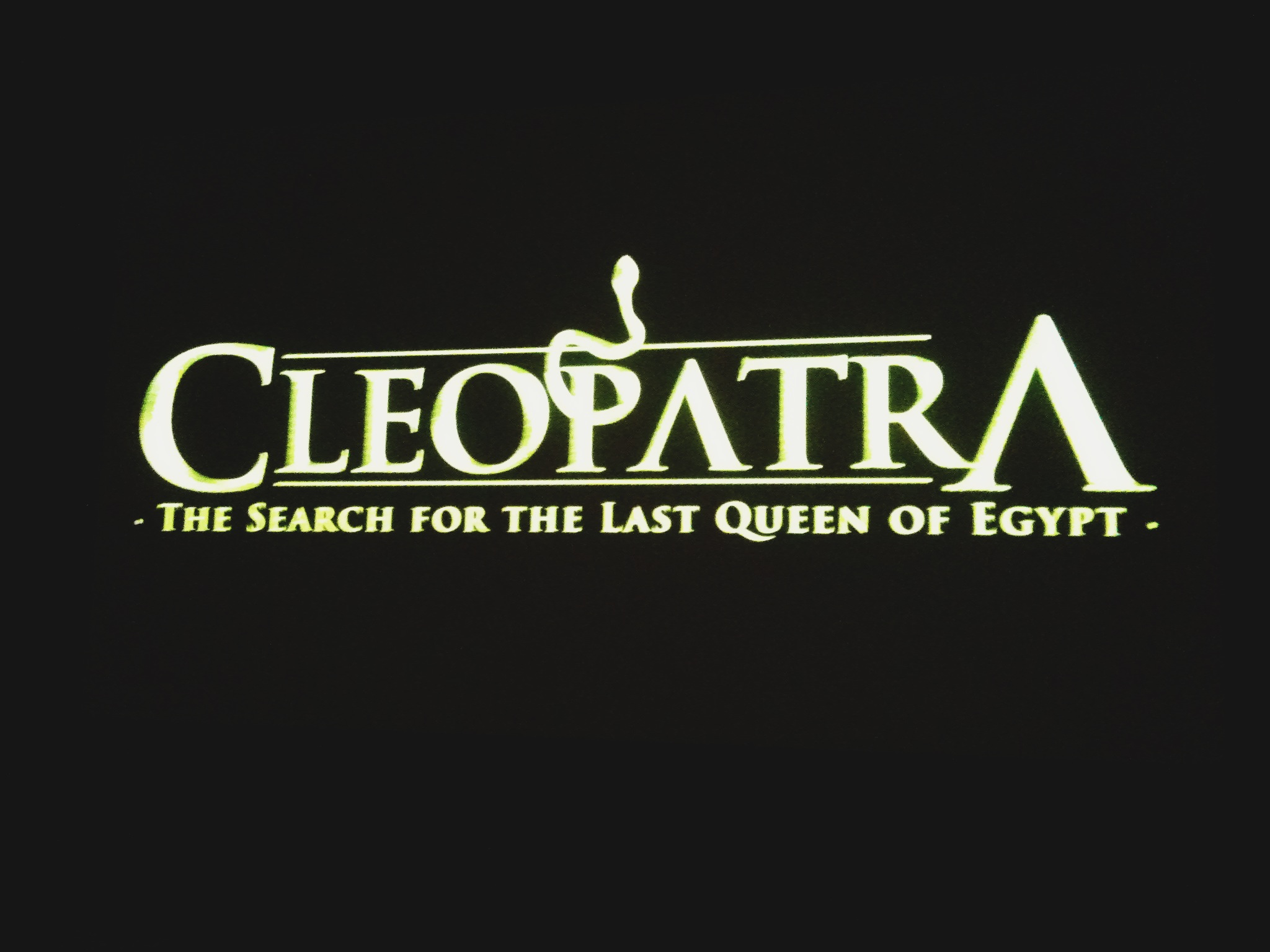Ellingsen Photography Cleopatra Exhibit Science Center Poster