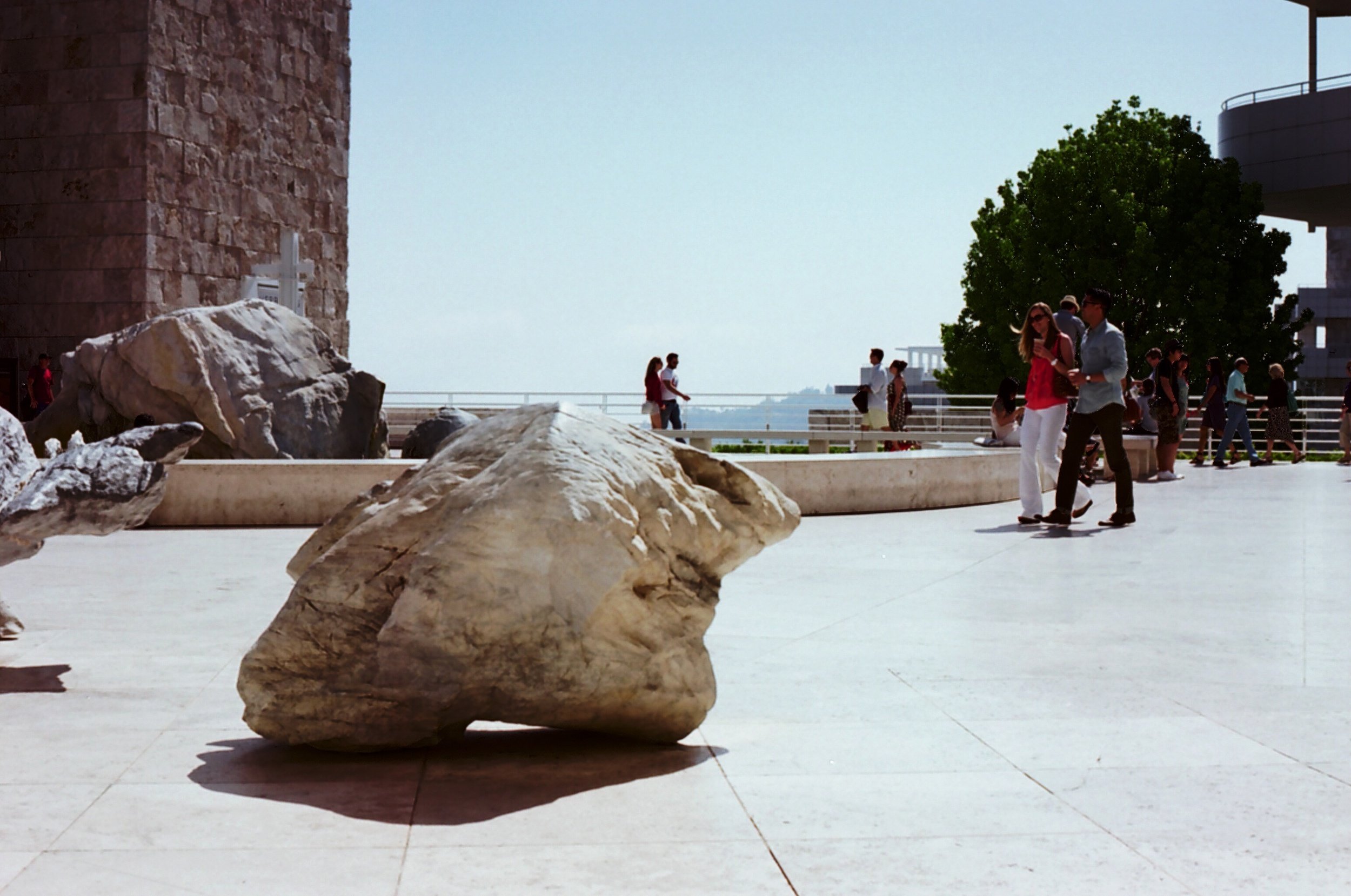 Ellingsen Photography The Getty Museum on Fujicolor Film