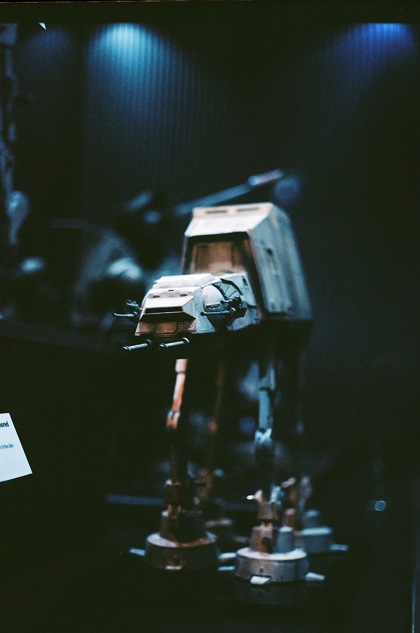 Ellingsen Photography Ektar Film Scans Star Wars Exhibit AT-AT