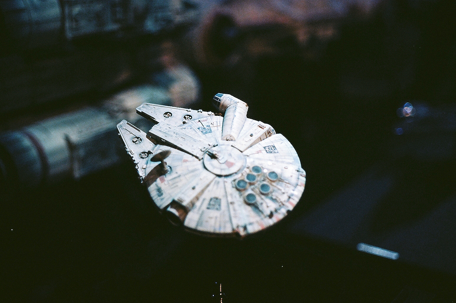 Ellingsen Photography Ektar Film Scans Star Wars Exhibit Millenium Falcon Small