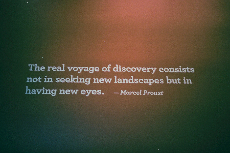 Ellingsen Photography LA Natural History Museum Proust Quote