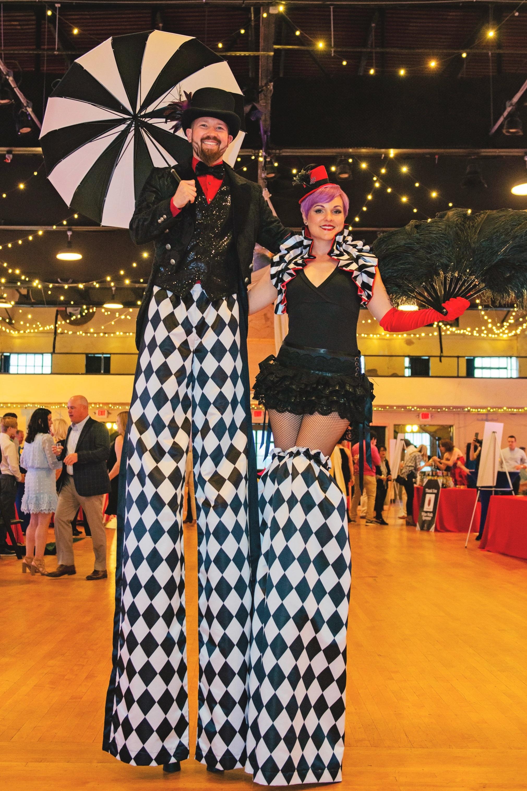Circus Stilt-walkers