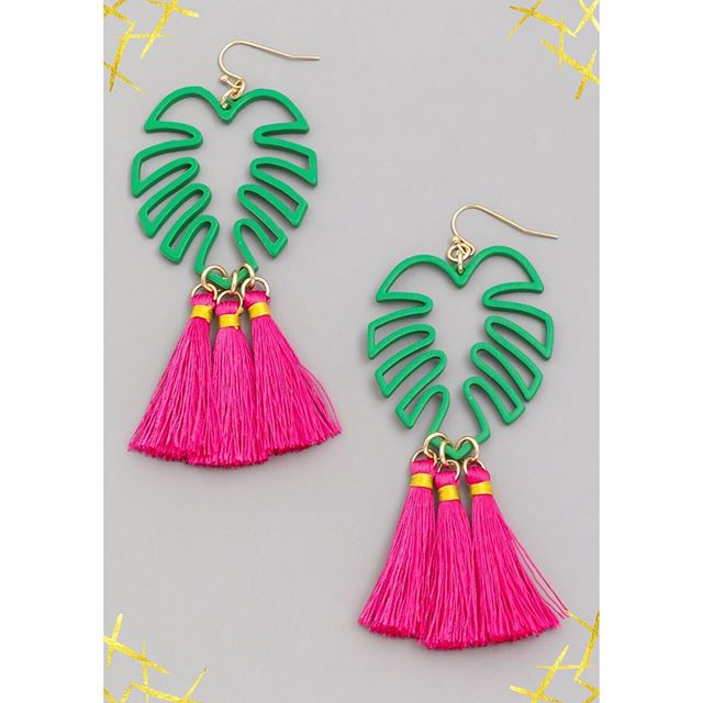 Bring on the sunshine! ☀️ Fuji Tassel Earrings now in stock. Shop new jewels www.GoldRushBoutique.com Link in bio.