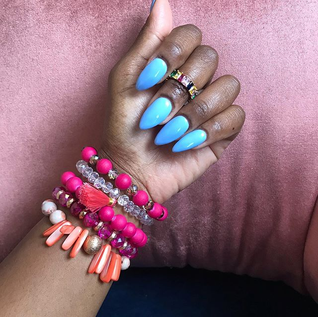 Pink never goes out of style! Shop this beaded bracelet set and ring (size 7) in our store before it's gone! Only 2 left in stock! www.GoldRushBoutique.com