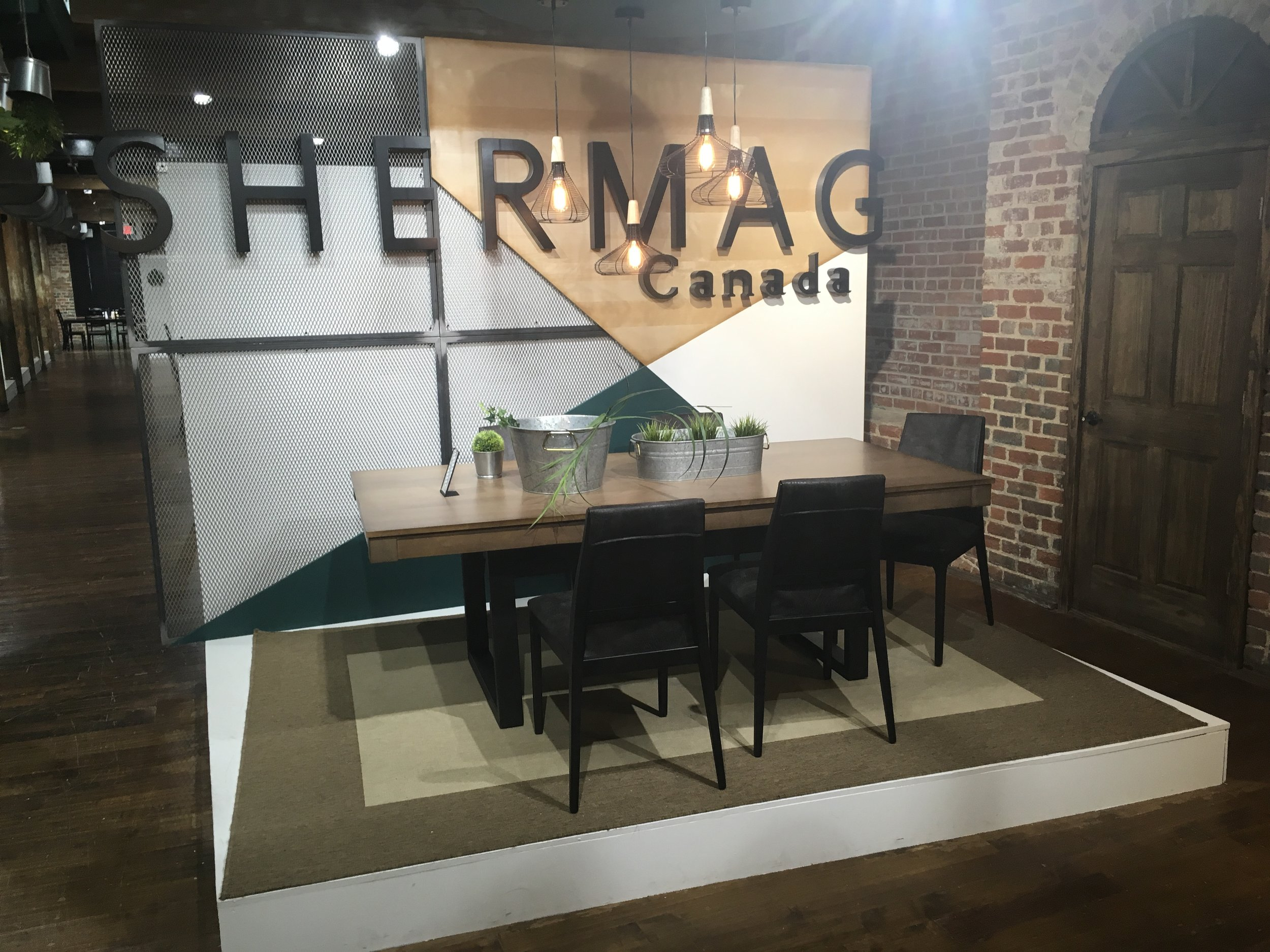 Shermag Canada Showroom