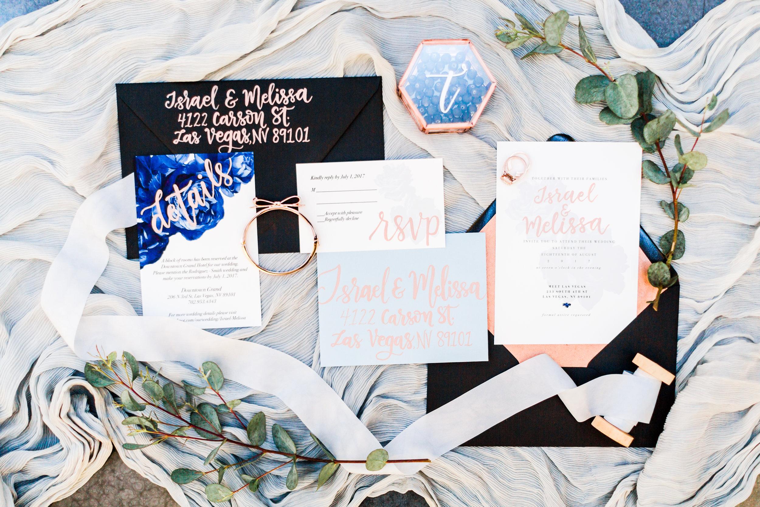 MEET invitation suite