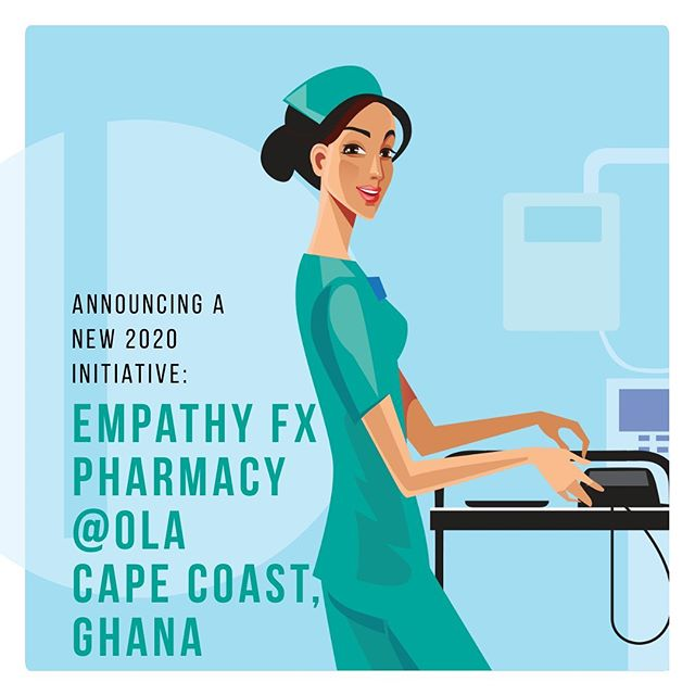 We are excited to announce a new project! We have began providing funding to start a new pharmacy in Cape Coast, Ghana. Follow us to stay updated on our progress! #medicine #travelabroad #philanthropy