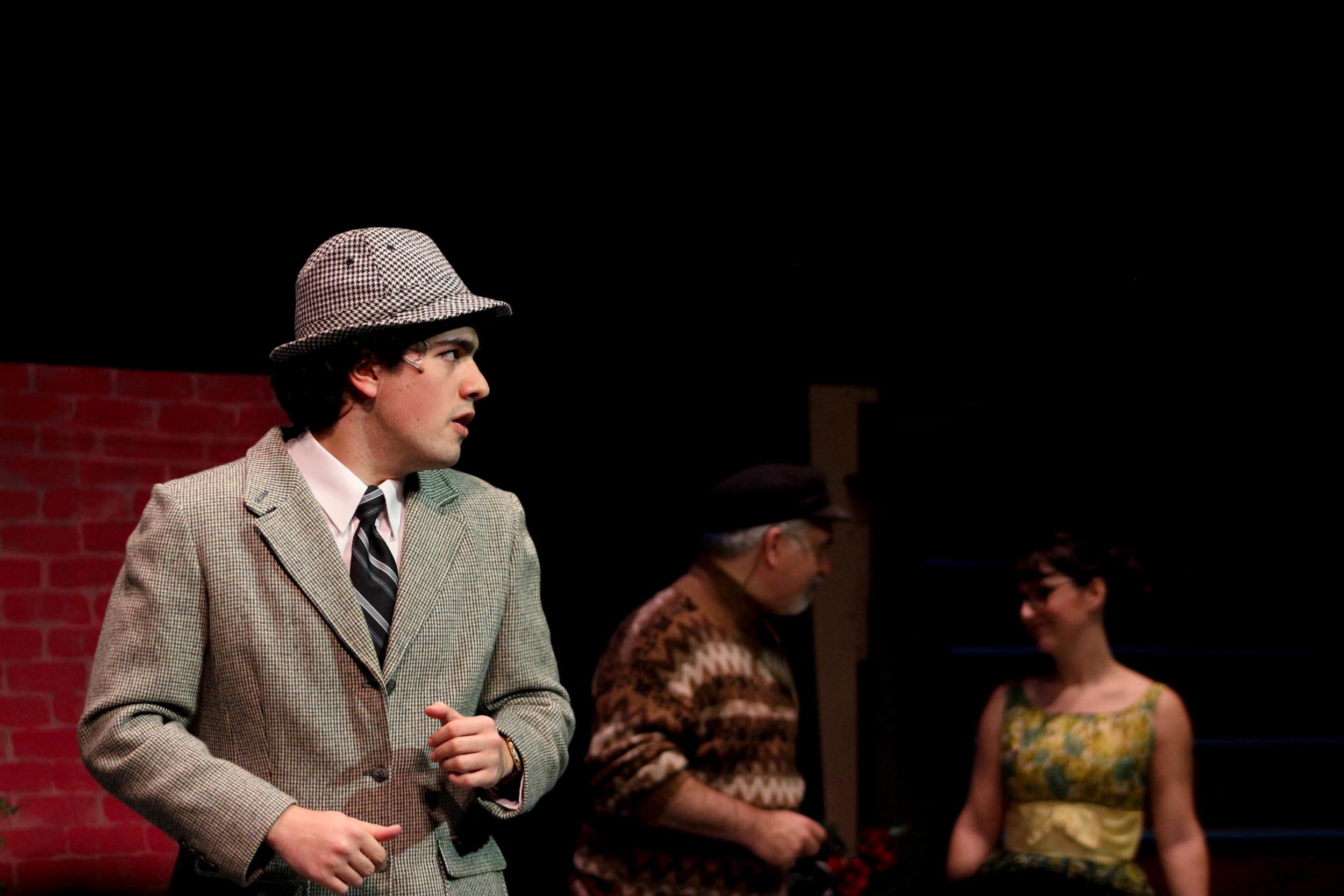 Sam in Mopco's Spontaneous Broadway