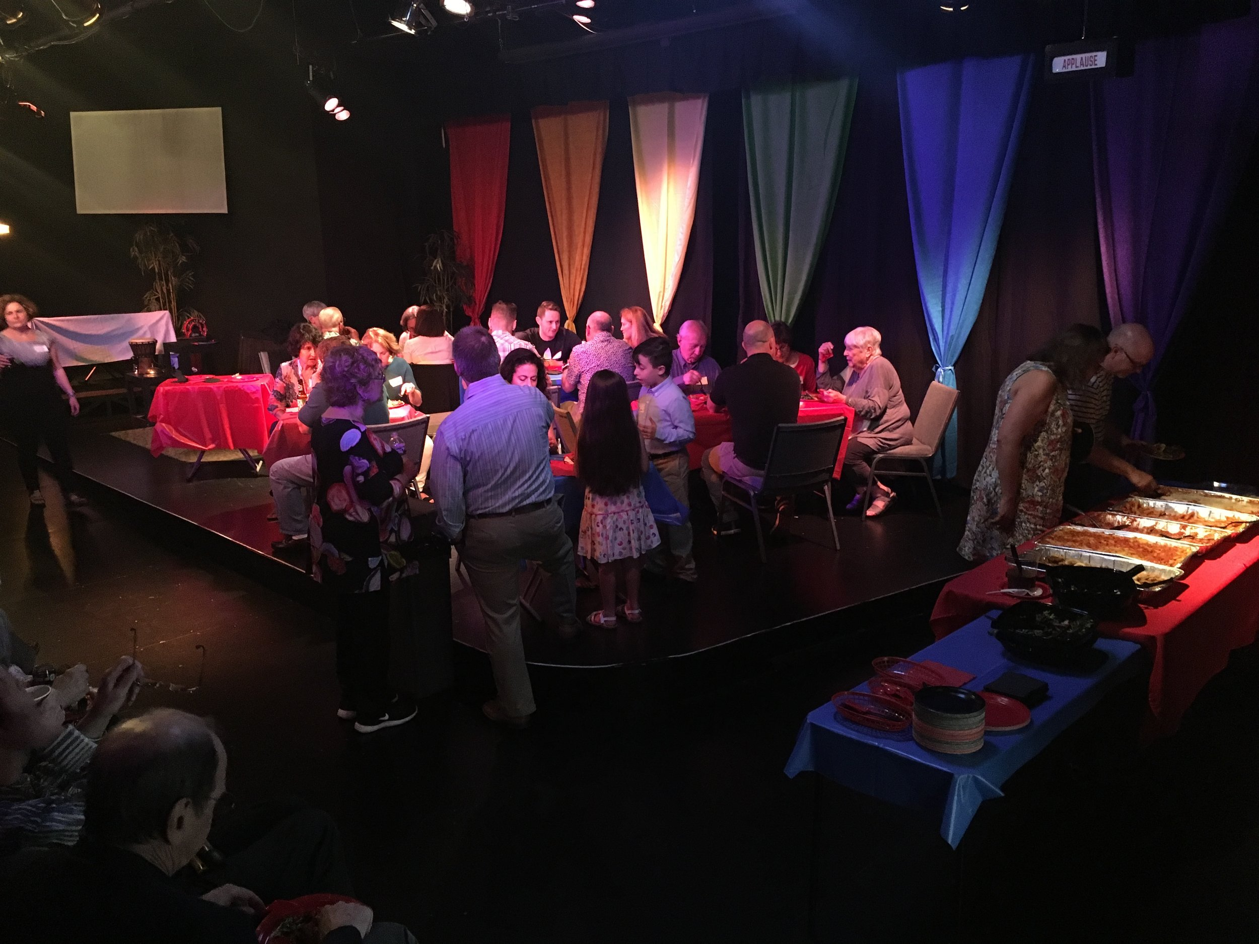 The Mopco is great for adult parties too!  - With or without a show, the Mopco might bethe perfect venue for your gathering!