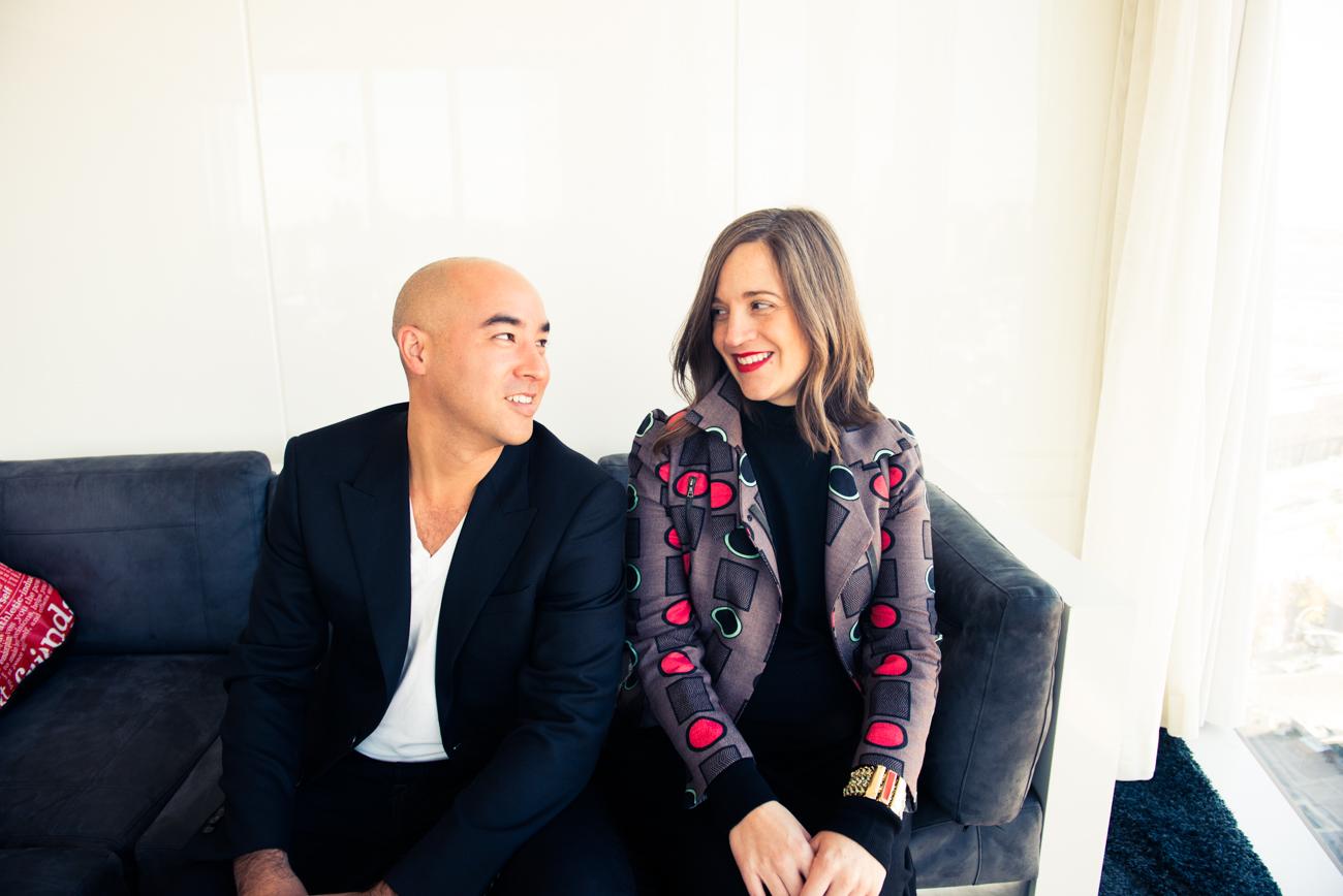 Max Osterweis &Erin Beatty (photo  The Coveteur )