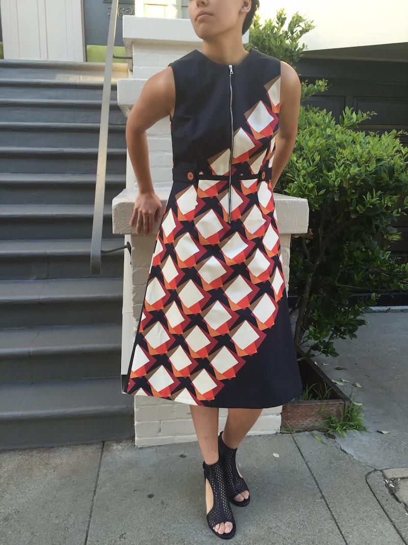 Suno Dress Zero +Maria Cornejo Sandals