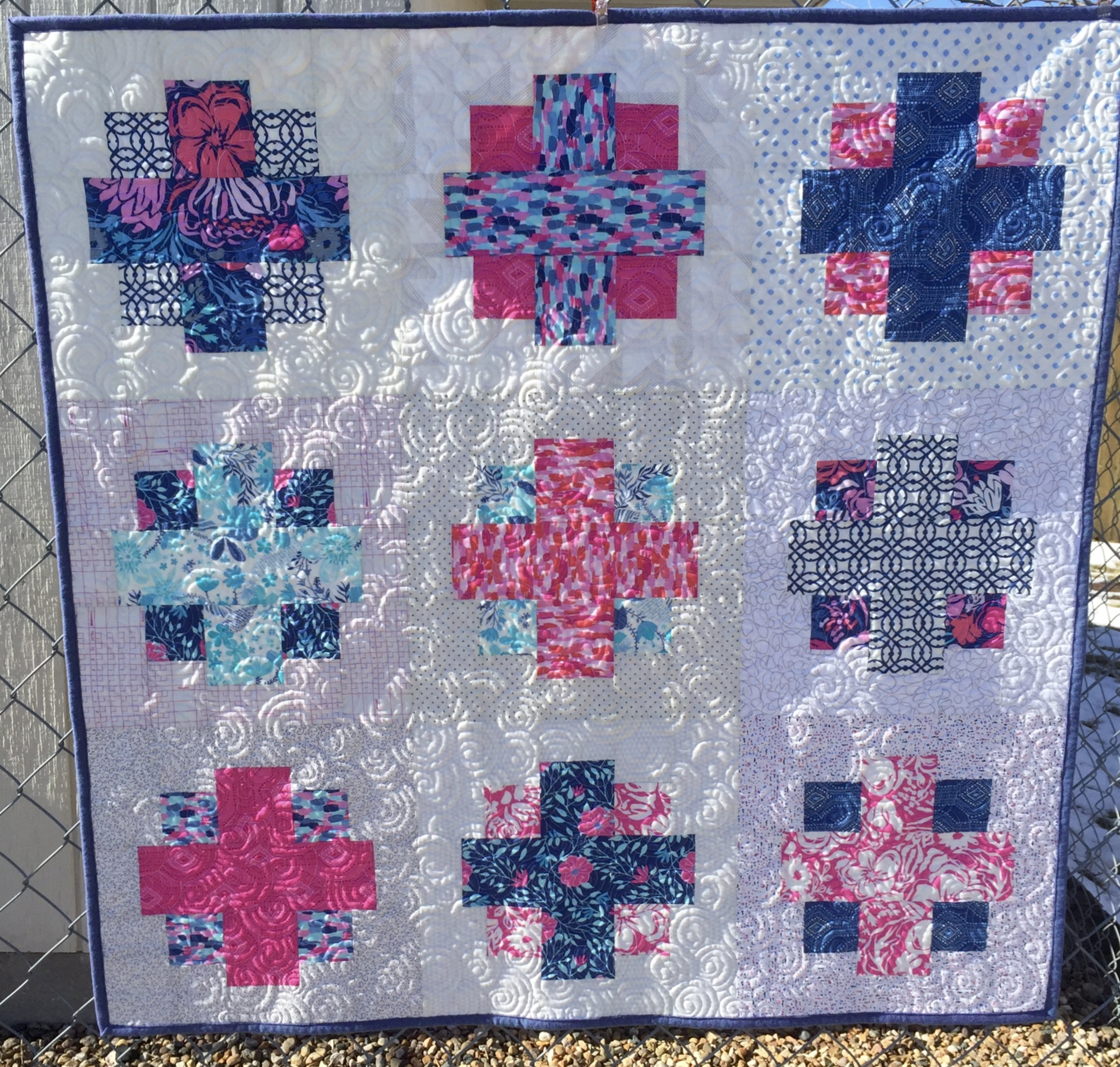 Easy Addition pattern by Brenda Ratliff, appearing in the Quilts and More Spring 2016 issue.