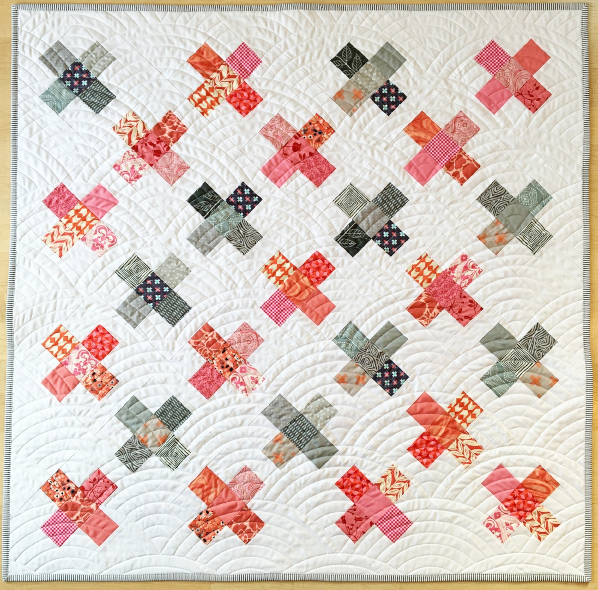 """Baby quilt size - 42"""" x 42"""""""