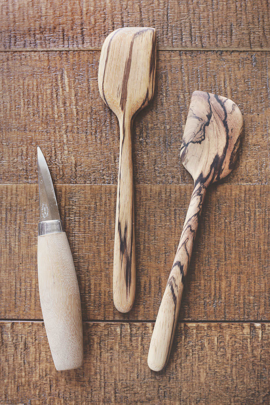Hand-Carved Spatulas