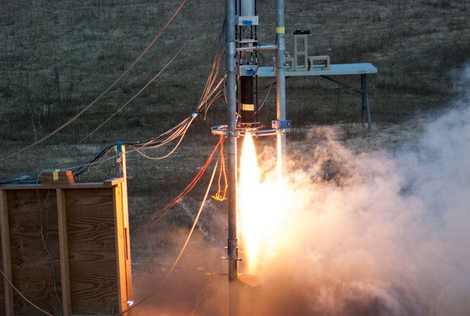 Hot fire testing of the Mk IIB motor