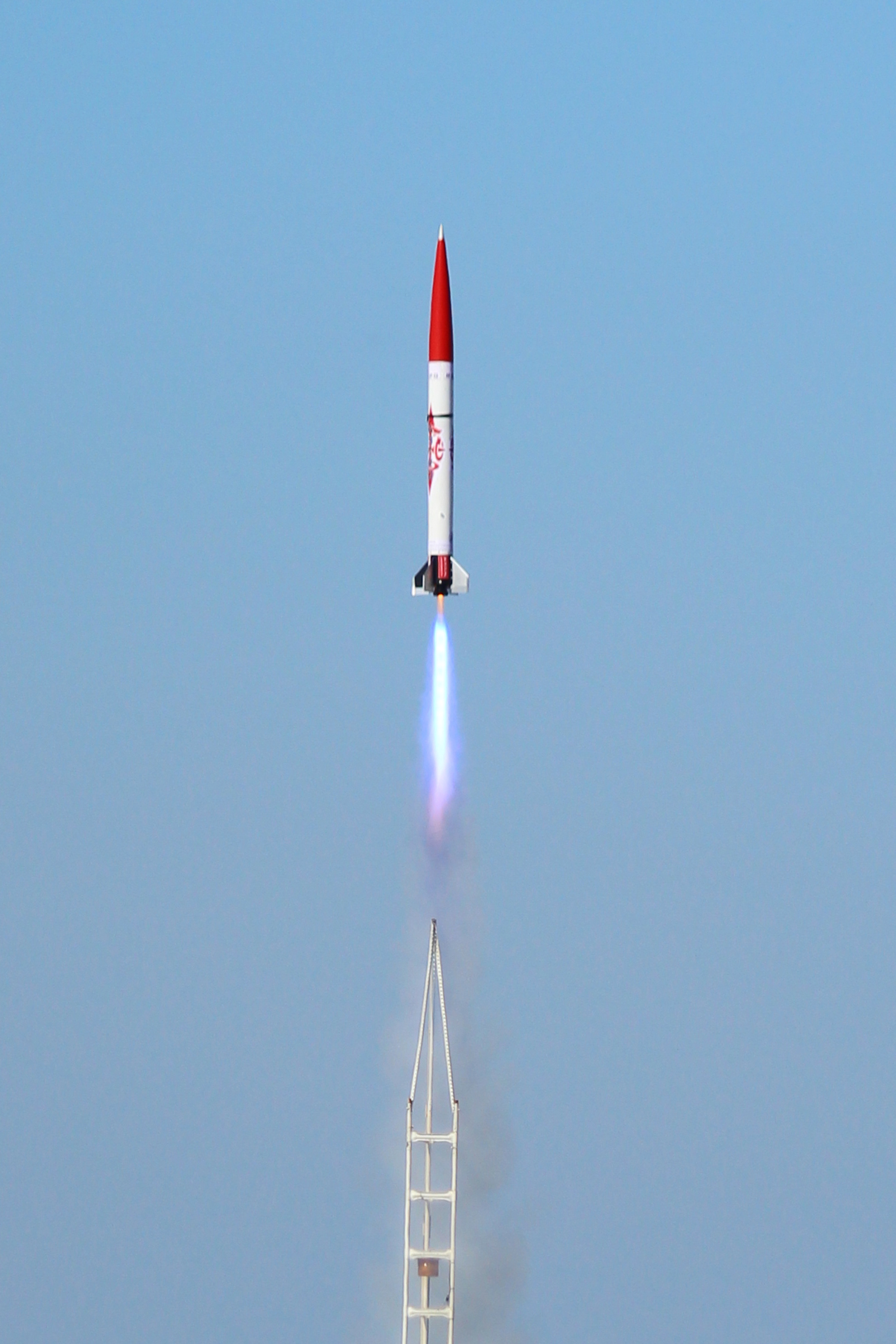 First flight test of ASTRo