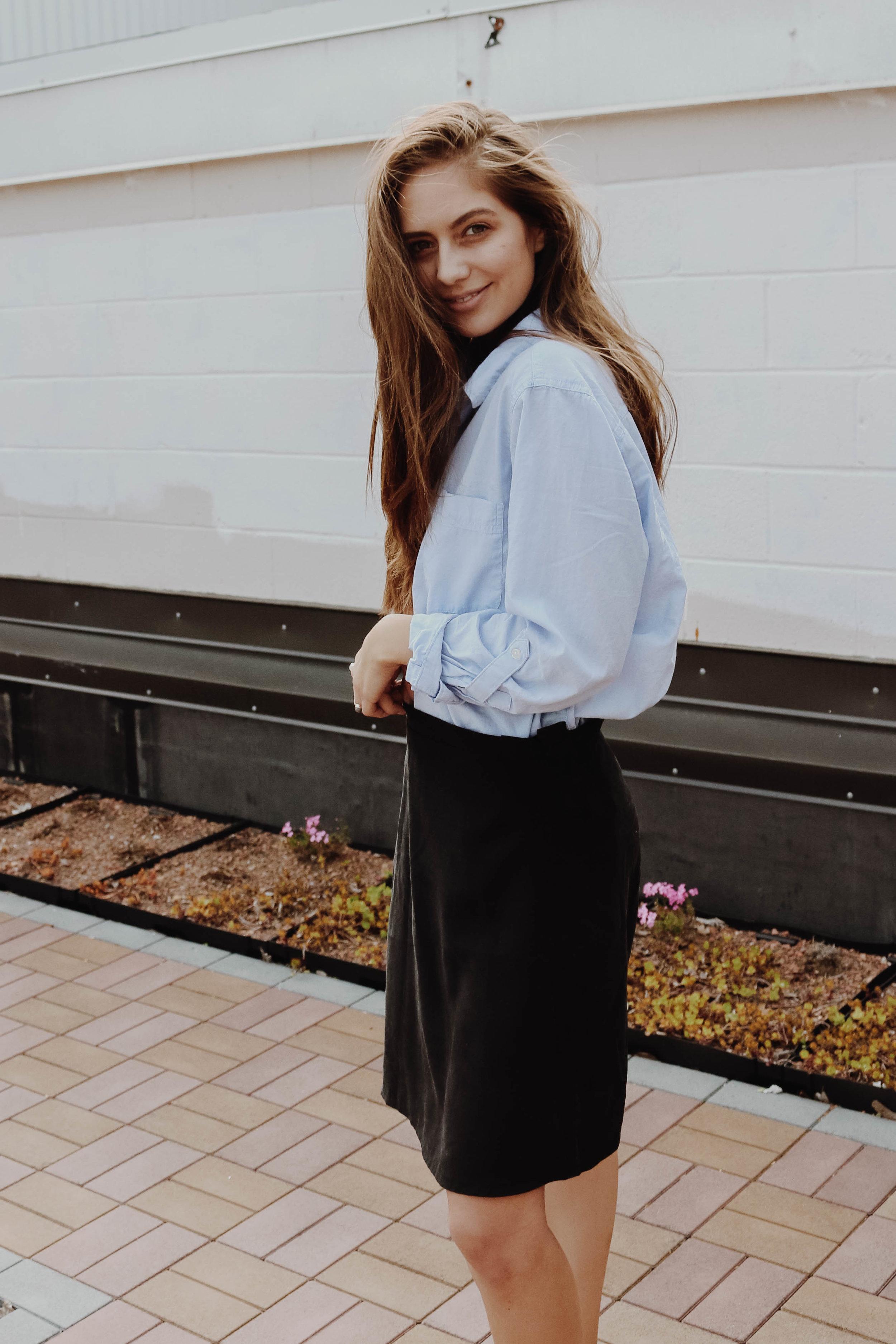Liza Side-Tie Skirt -  Bellantoni