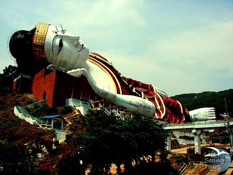 BIGGEST RECLINING BUDDHA