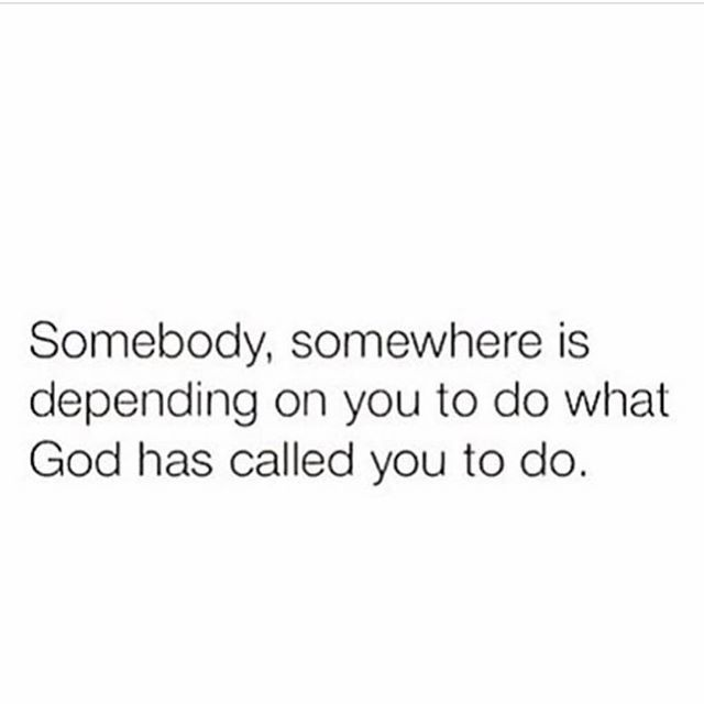 🔑 What he has called YOU to do! Not to copy what everyone else is doing! #periodt