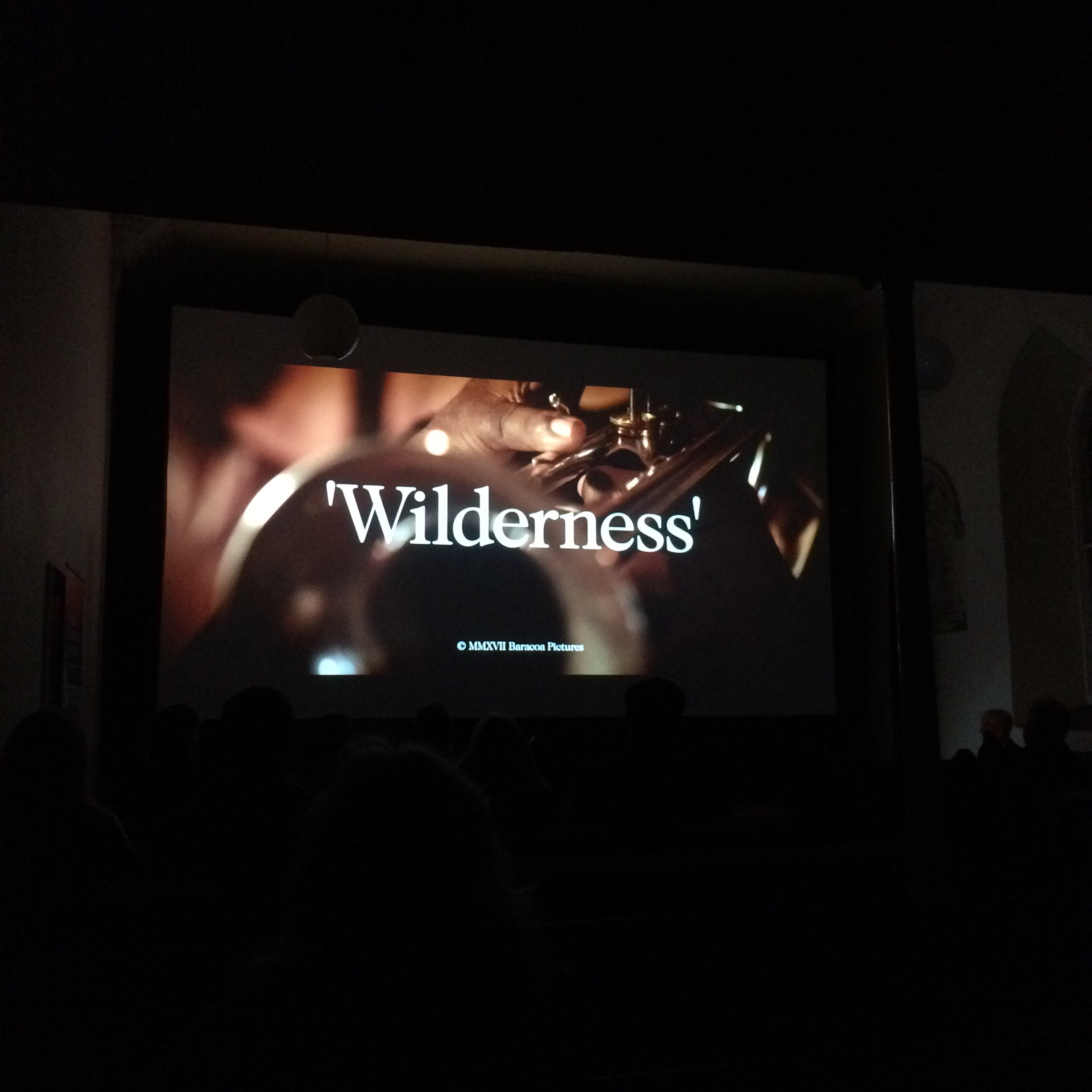 Screening at a beautiful Church in Dingle, Ireland.