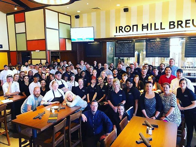 The fantastic restaurant chain - The Iron Hill Brewery opens its first location outside of the Philadelphia area - Greenville, SC - first pour tonight.