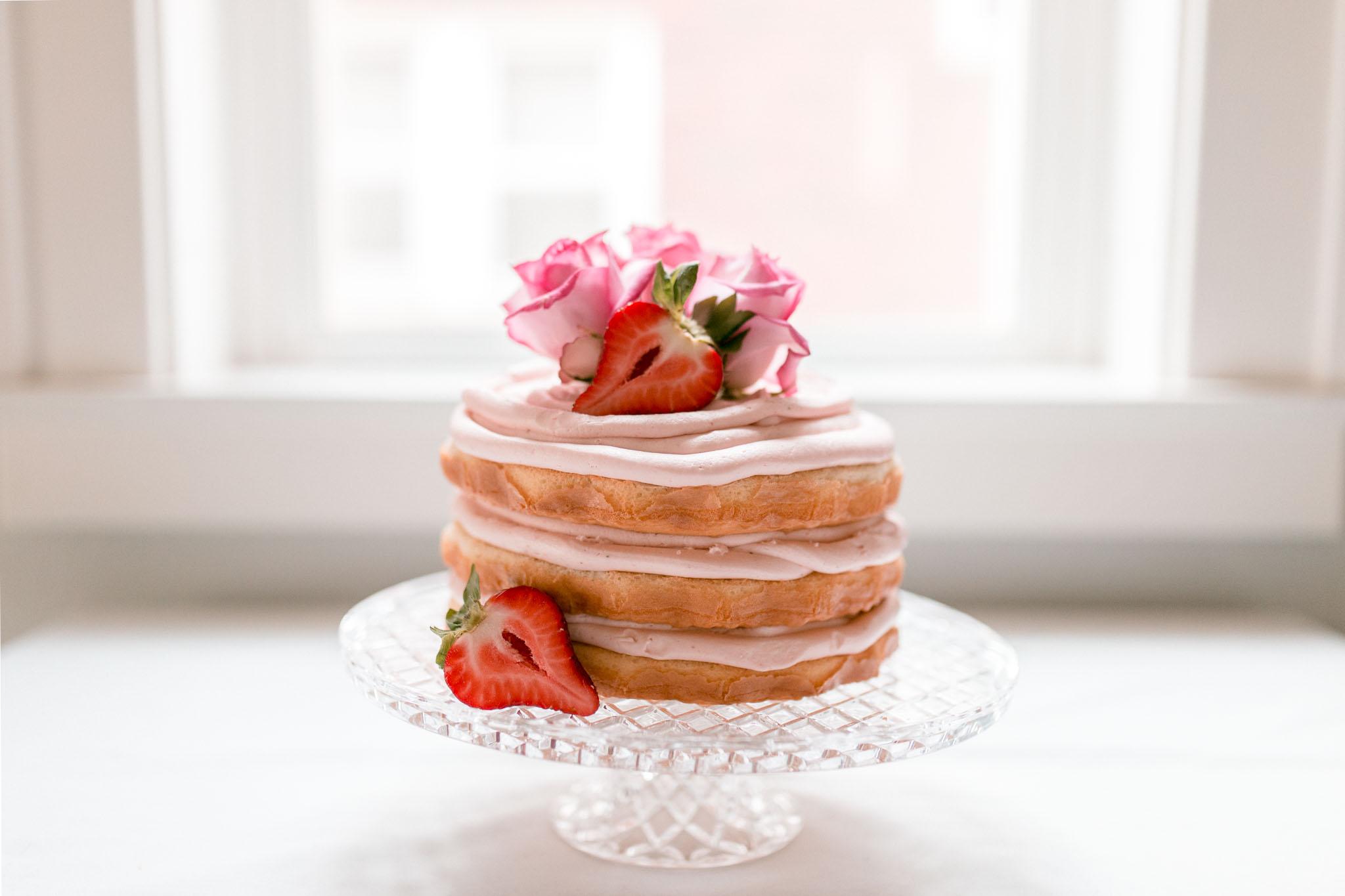 Naked Cake, Jamie V. photography, Wheeling WV