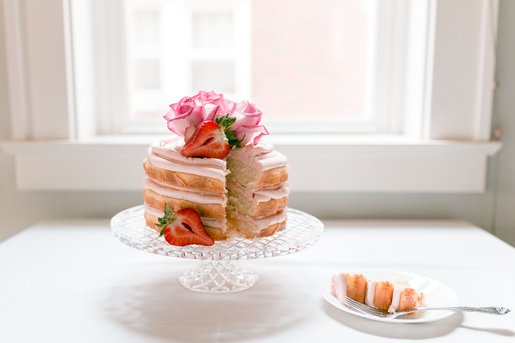 Naked Cake, Jamie V. photography, Wheeling WV