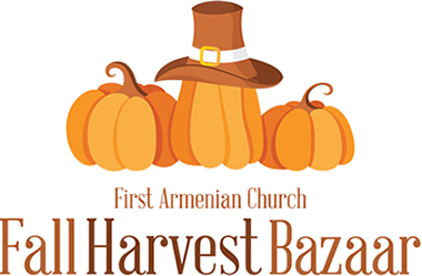 Join us for our Annual Fall Harvest Bazaar on Saturday, October 24, 2015 from 12 Noon – 8:00 PM  Shish Kebab Dinners; Delicious Armenian Foods to take home; and much more!
