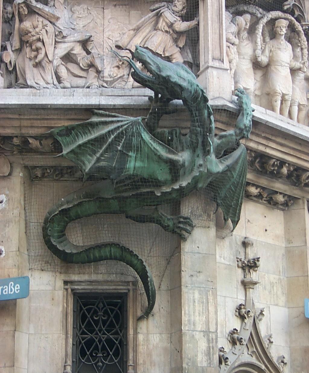 Munich, New Town Hall, July 1999.
