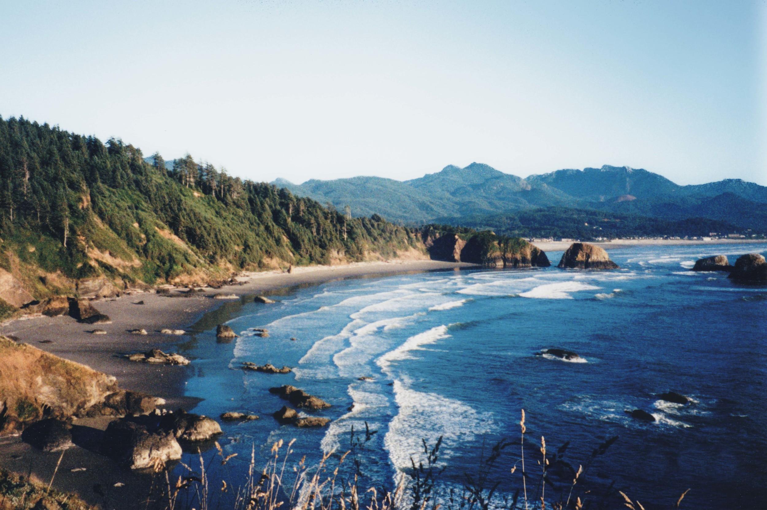 Oregon Coast - Circa 1989 Scanned from 35mm film print