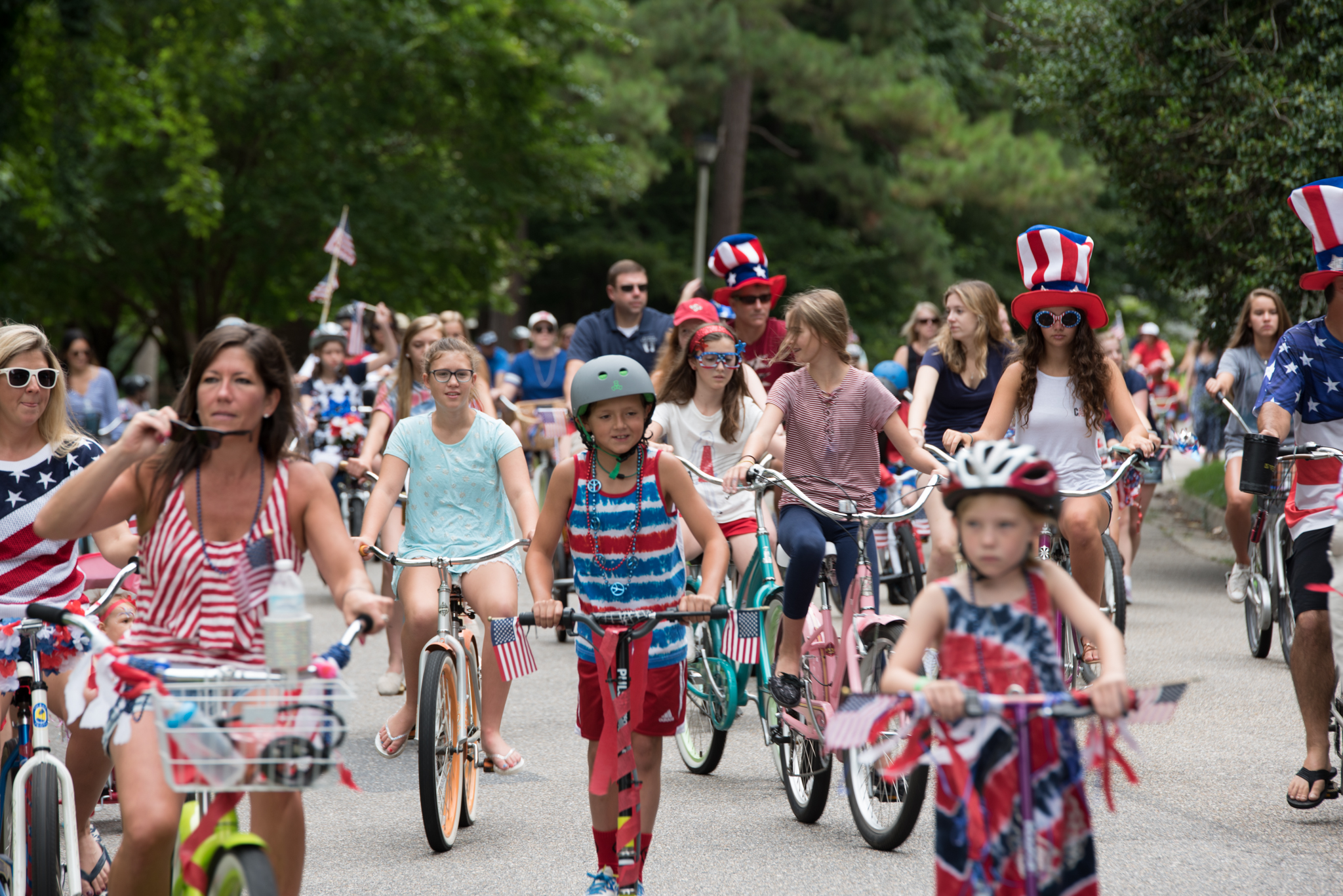 ©2015 Images by Design - Independence Day Bicycle Parade