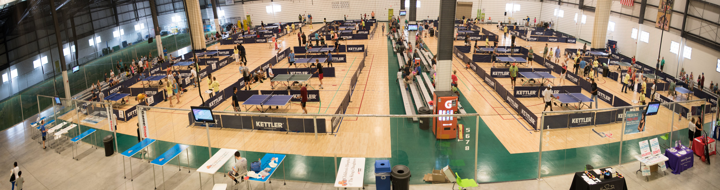 Ping Pong for Charity 2016 at the Virginia Beach Field House. ©2016 Images by Design