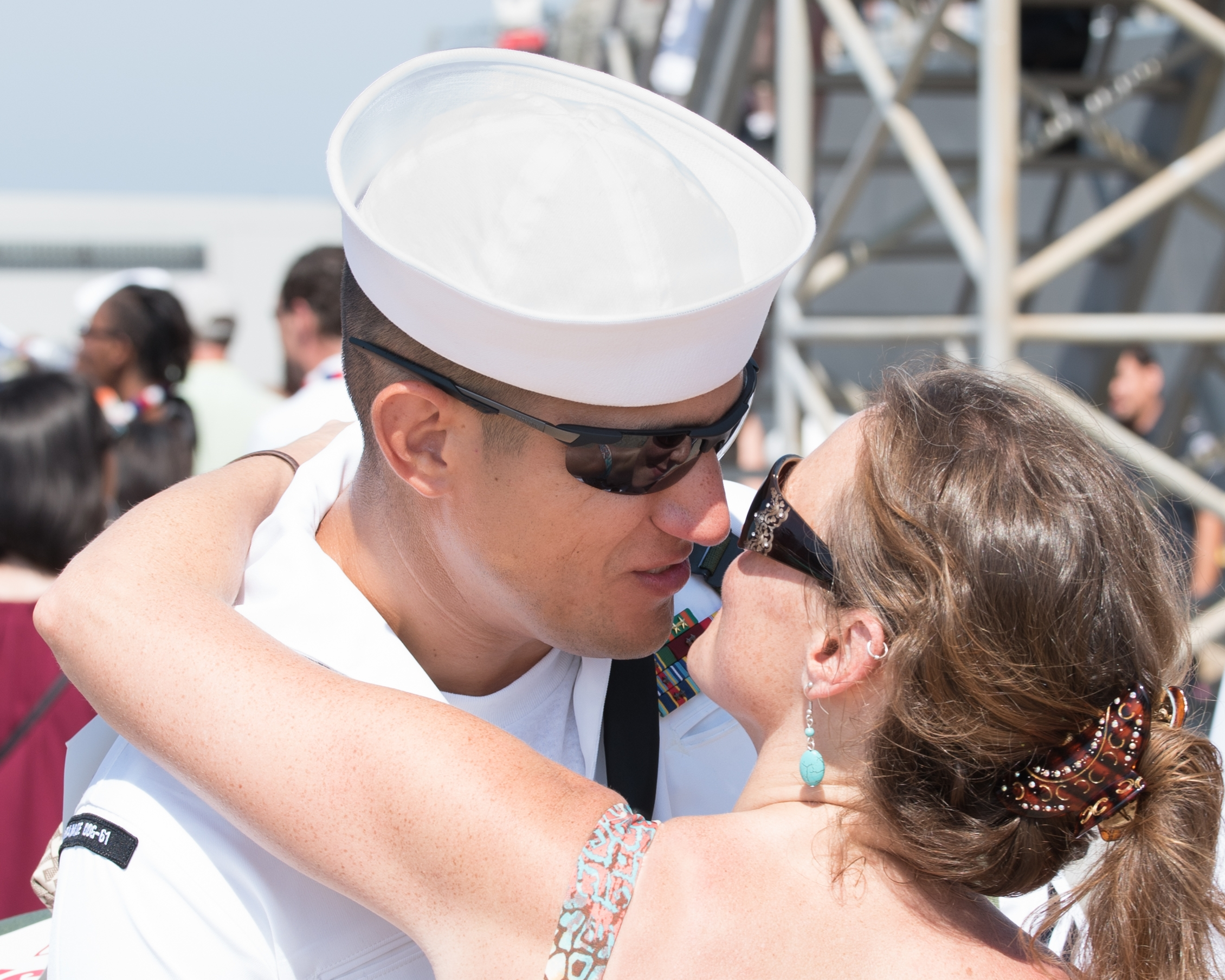 Military homecomings are a big part of life in Hampton Roads.  We would be honored to capture that precious moment when your sailor returns home from deployment.