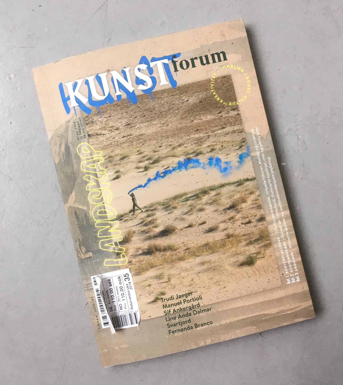 Interview Kunstforum Issue 2- 2018