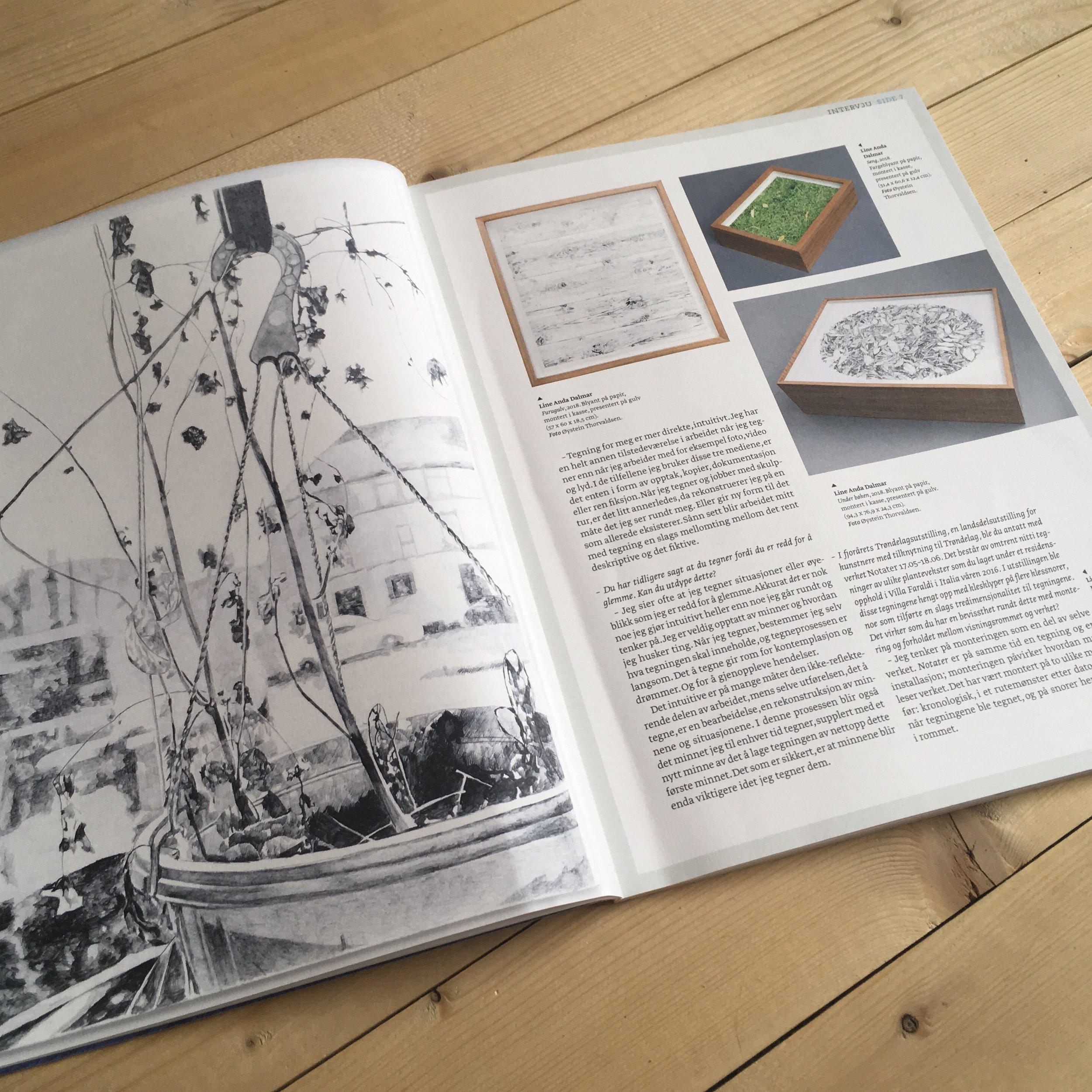Tegning som tidskapsel , Interview, NUMER Tidsskrift for tegning, illustrasjon og bokkunst, 02 2019