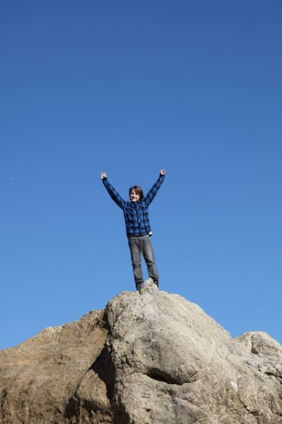 Adam at the top of the World
