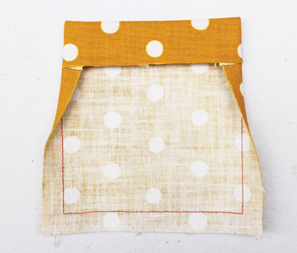 Step by step in how to make the perfect patch pocket