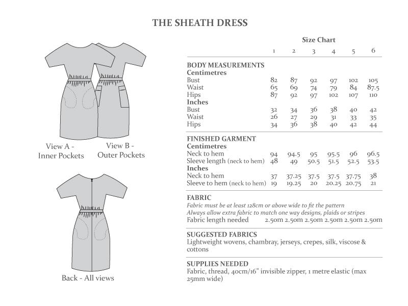 Sheath Dress from The Avid Seamstress