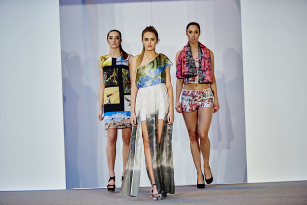 Taken on the catwalk at CHSI Stitches trade show