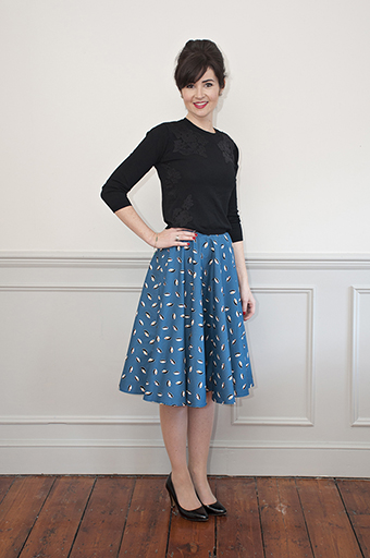 Full Circle Skirt from Sew Over It