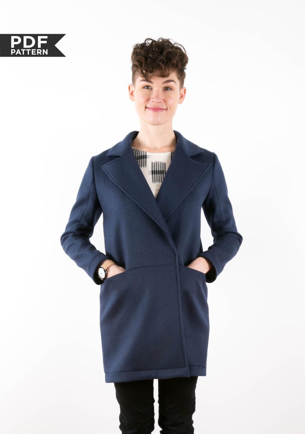 Yates coat from Grainline Studio