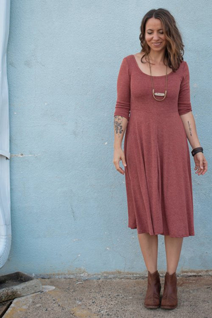 staisa dress from sew liberated