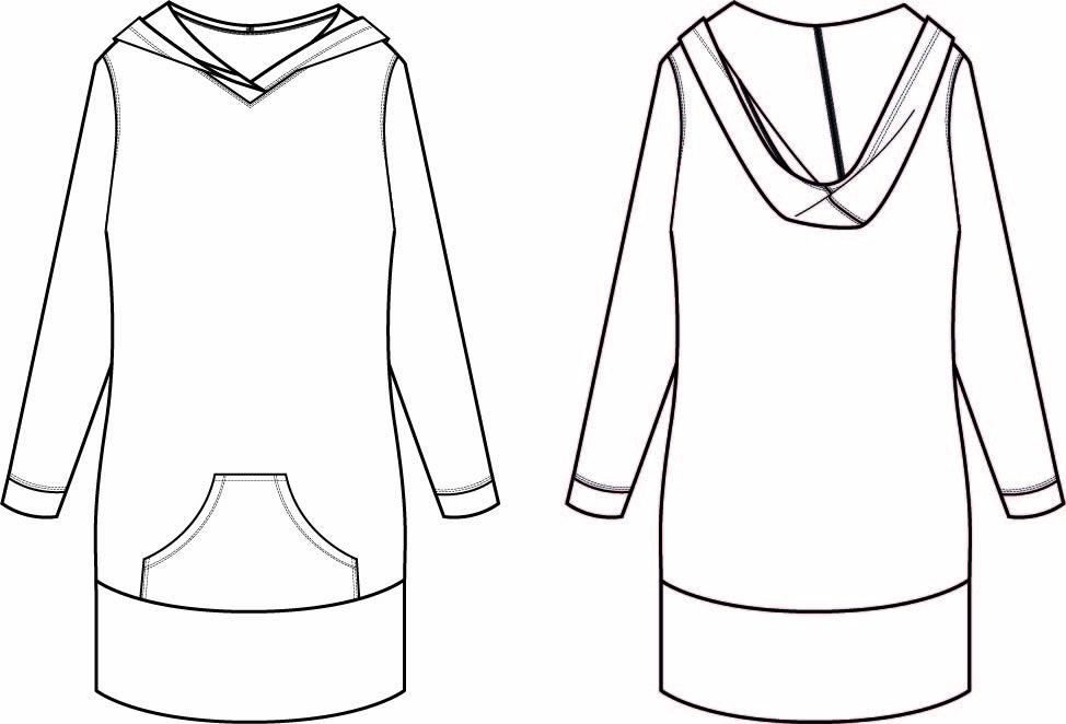 hove hoodie illustrations