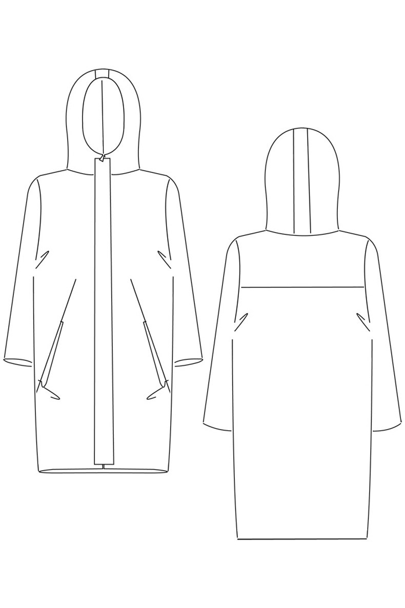 Amy Parka plus-size