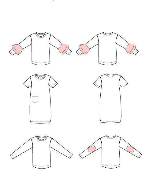 Muareen Top/Dress from DG Patterns